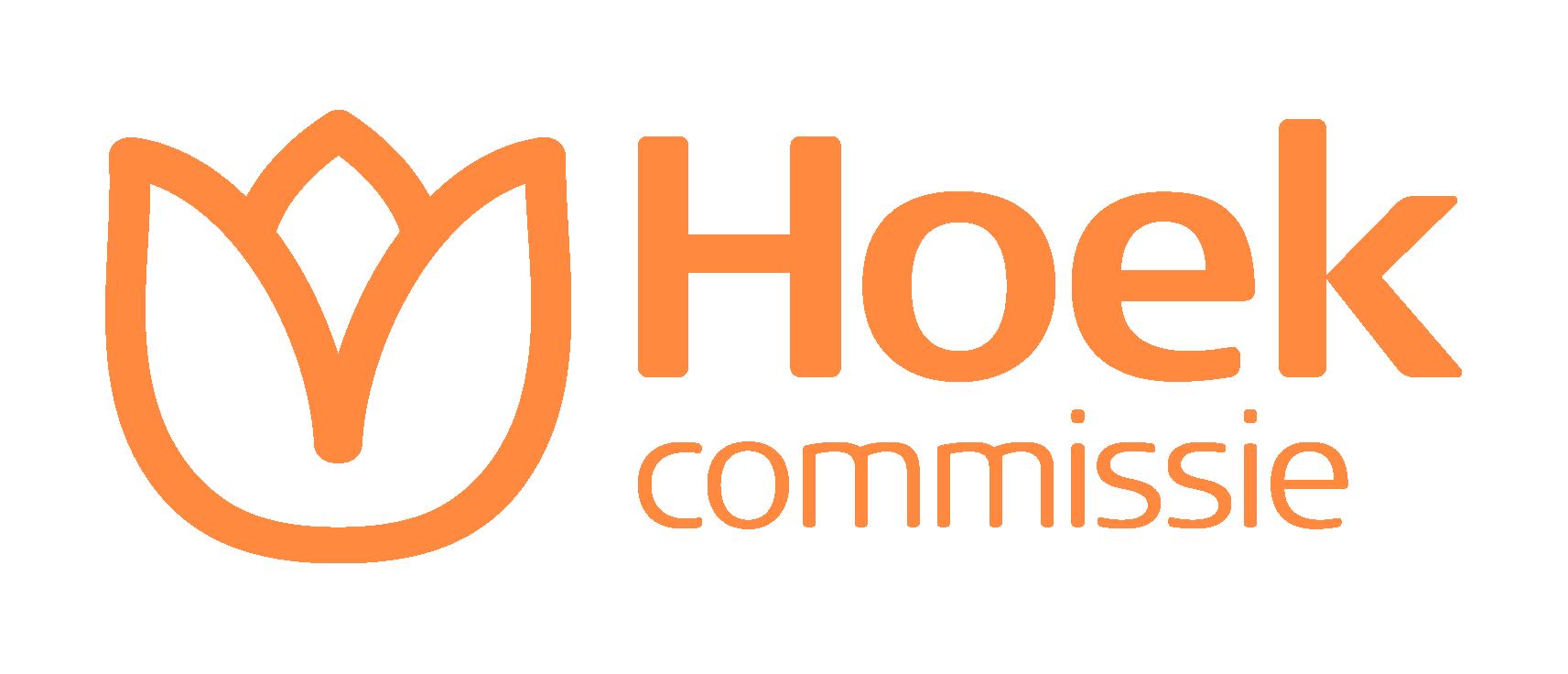 Hoek Commissie logo bloemen